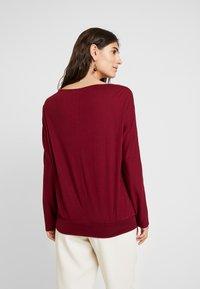s.Oliver - LANGARM - Long sleeved top - bordeaux - 2