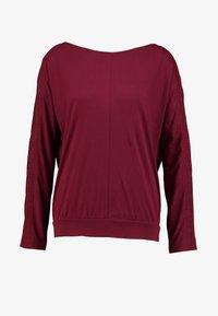s.Oliver - LANGARM - Long sleeved top - bordeaux - 4