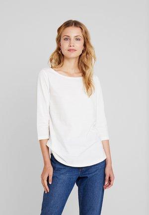 3/4 ARM - Pitkähihainen paita - creme