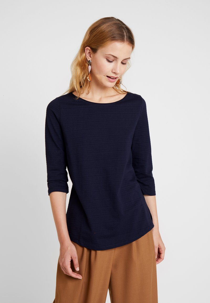 s.Oliver - 3/4 ARM - Long sleeved top - navy