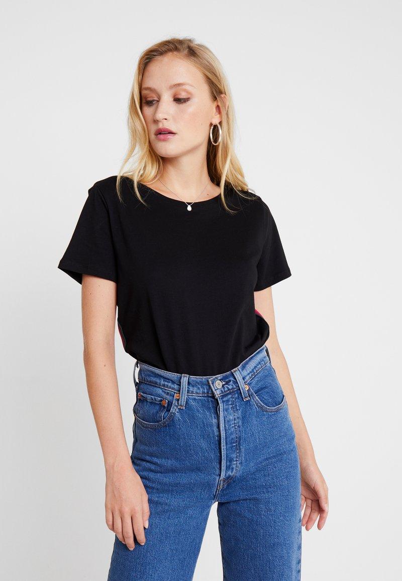 s.Oliver - T-shirts print - black