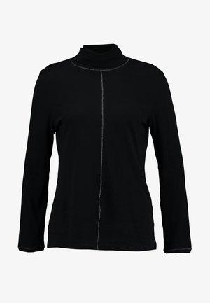 LANGARM - Top sdlouhým rukávem - black