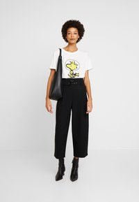 s.Oliver - WOODSTOCK - T-shirt con stampa - creme - 1