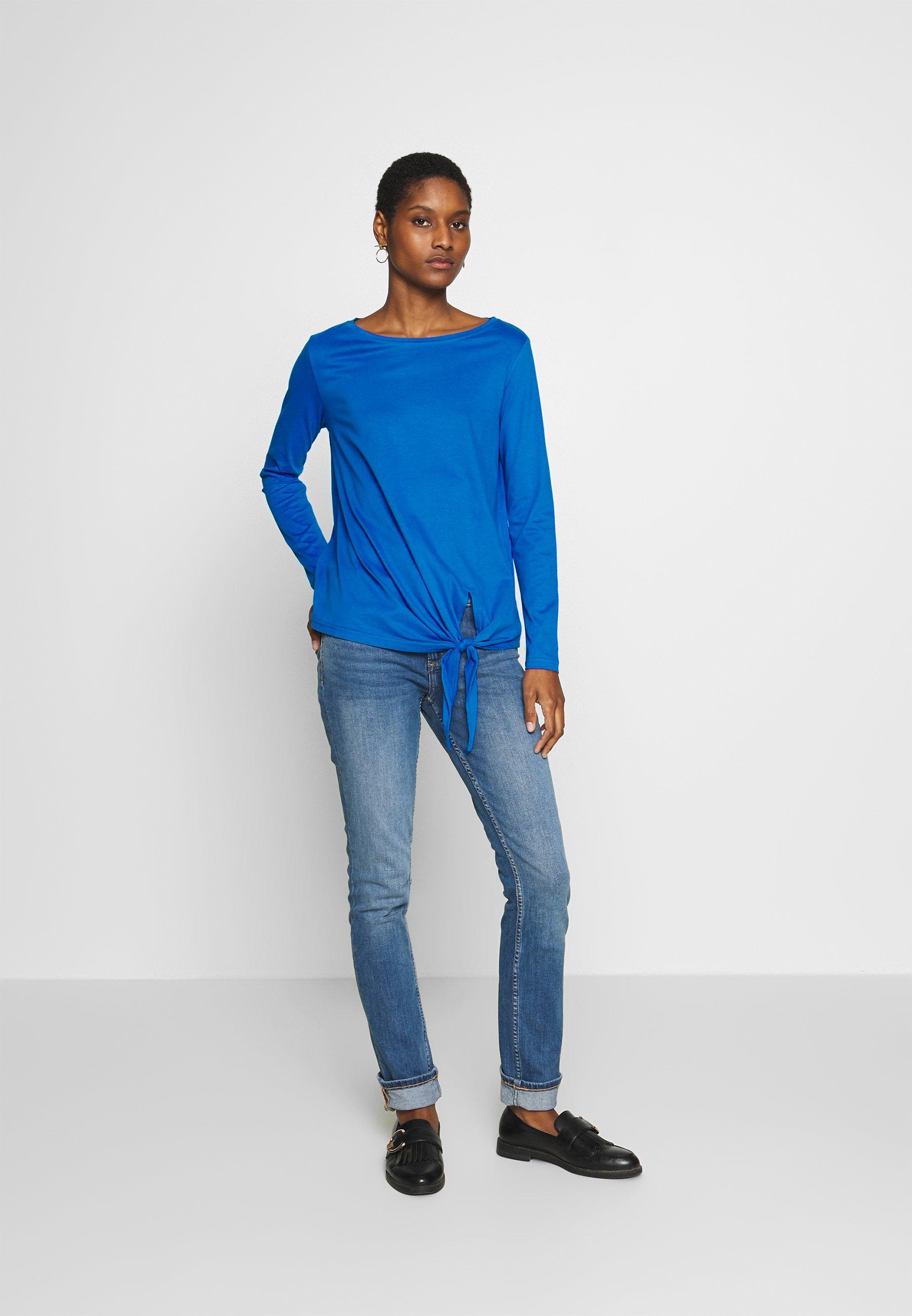 S.oliver Long Sleeved Top - Royal Blue