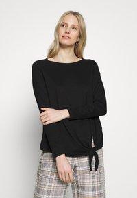 s.Oliver - T-shirt à manches longues - black - 0