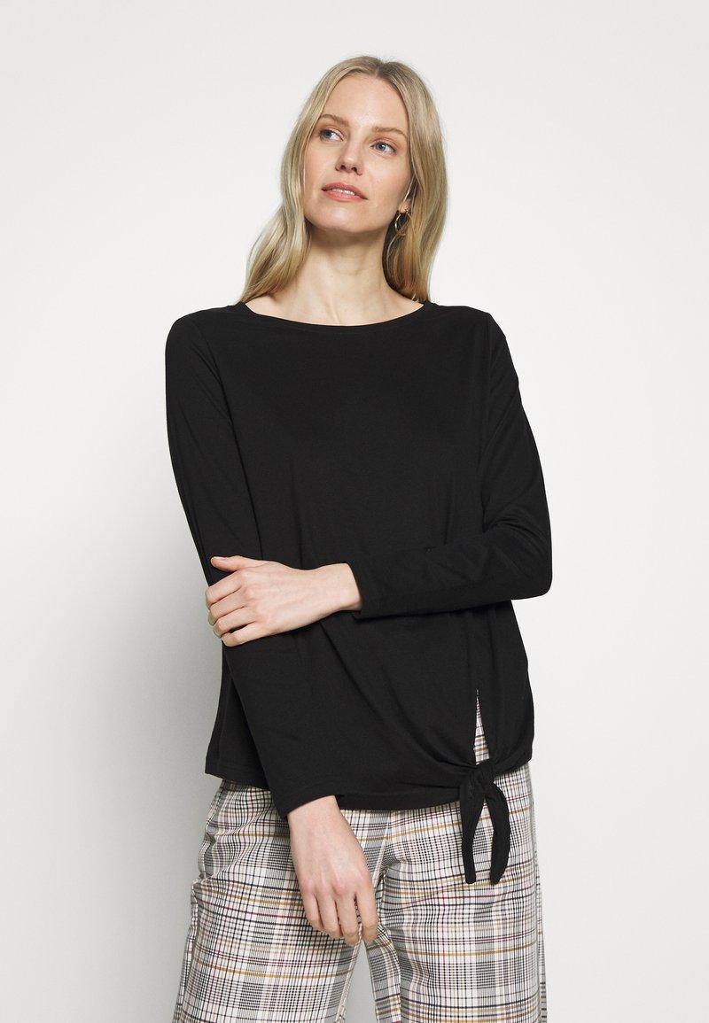 s.Oliver - T-shirt à manches longues - black