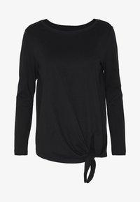s.Oliver - T-shirt à manches longues - black - 4