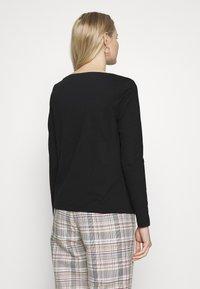 s.Oliver - T-shirt à manches longues - black - 2