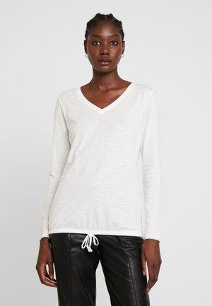 T-shirt à manches longues - cream