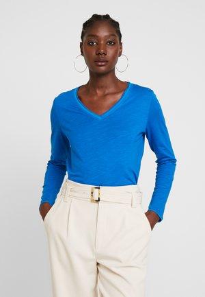 Long sleeved top - royal blue