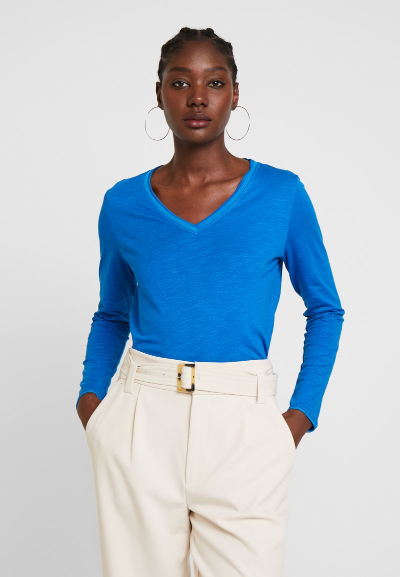 s.Oliver - Camiseta de manga larga - royal blue