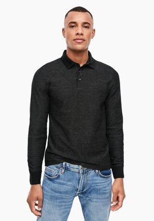 Poloshirt - blend grey melange