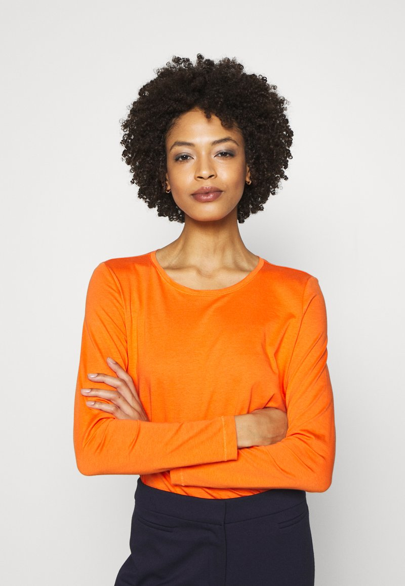 s.Oliver - Long sleeved top - marigold