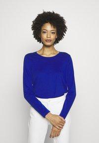 s.Oliver - Long sleeved top - cobalt blu - 0