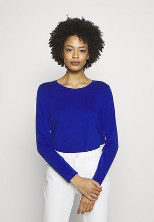 Topper langermet - cobalt blu