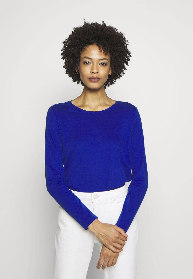 s.Oliver - Long sleeved top - cobalt blu