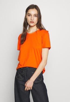 Print T-shirt - orange