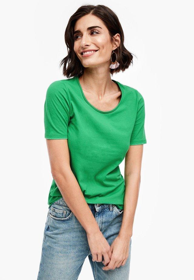 UNICOLORE - T-Shirt basic - green