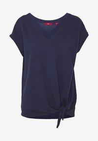 s.Oliver - Print T-shirt - dark steel - 3