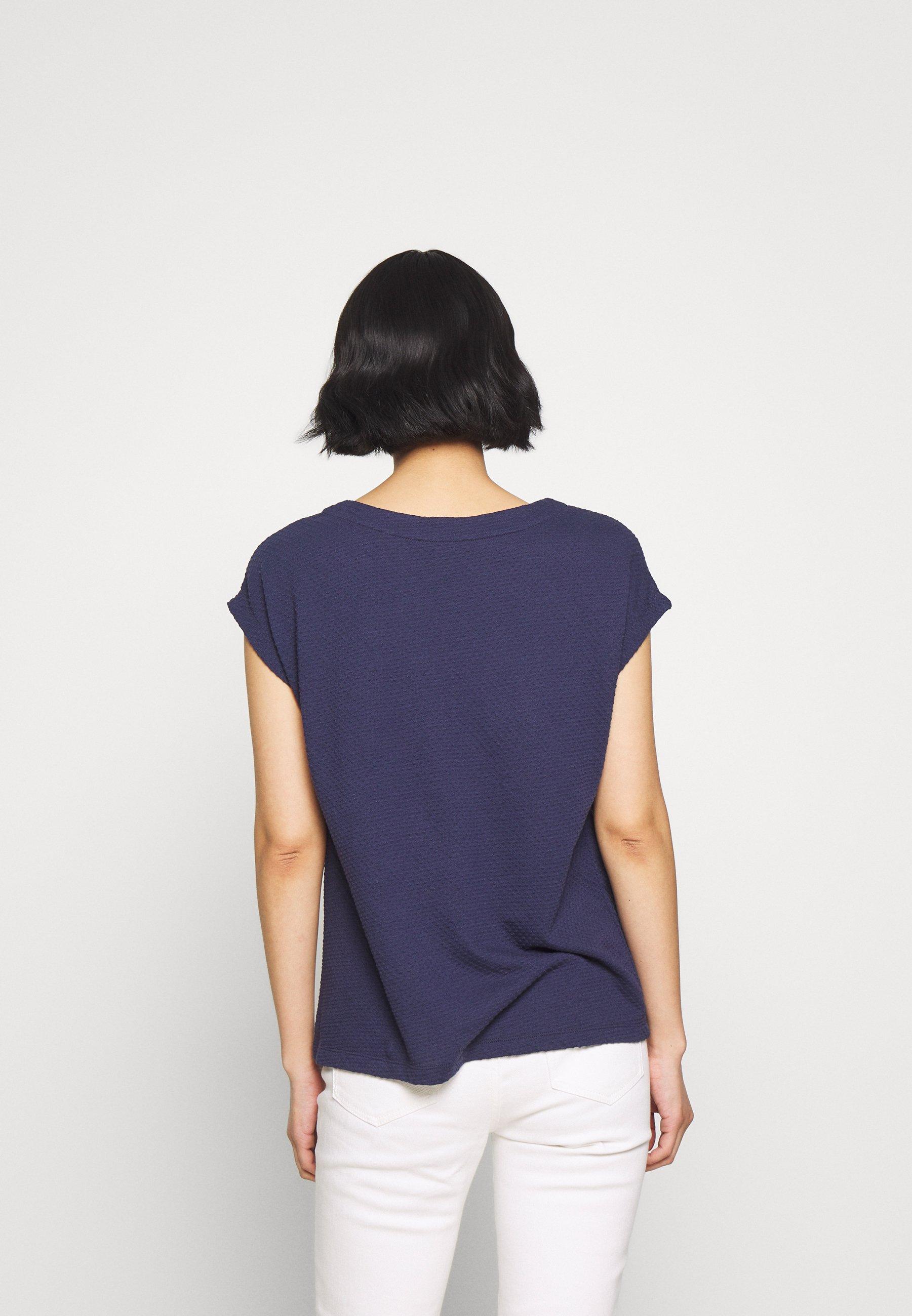 s.Oliver T-shirts med print - dark steel