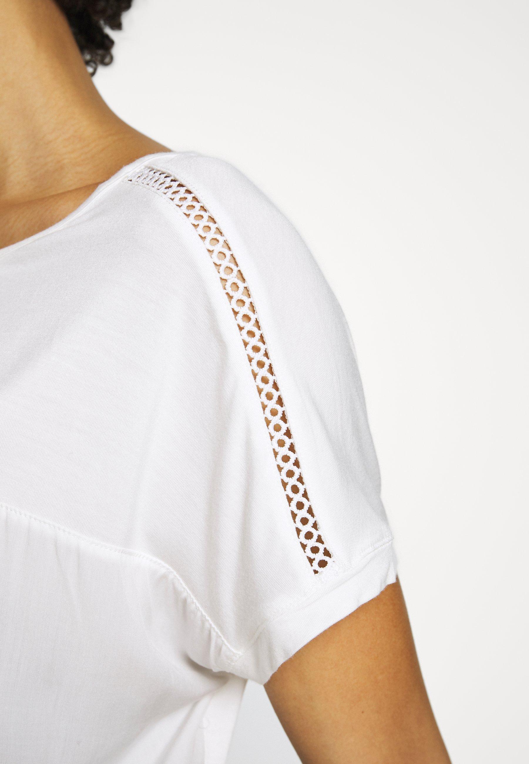 s.Oliver T-shirt basic - cream