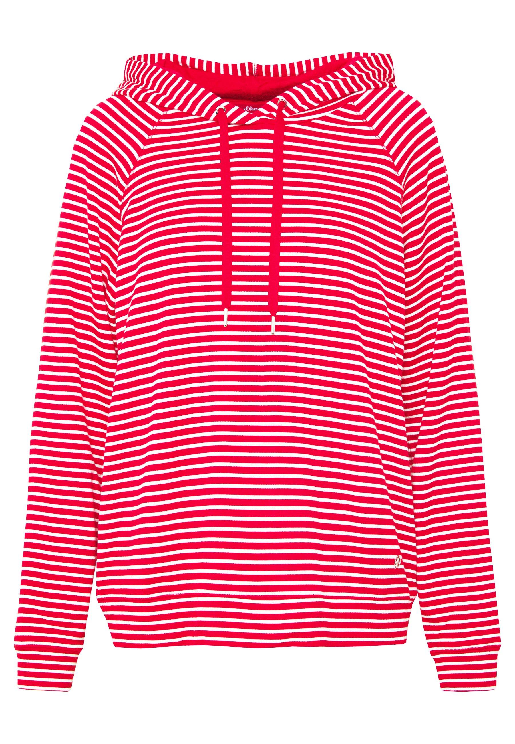 S.oliver Langarm - Luvtröja Red