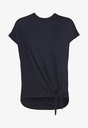 KURZARM - Basic T-shirt - navy