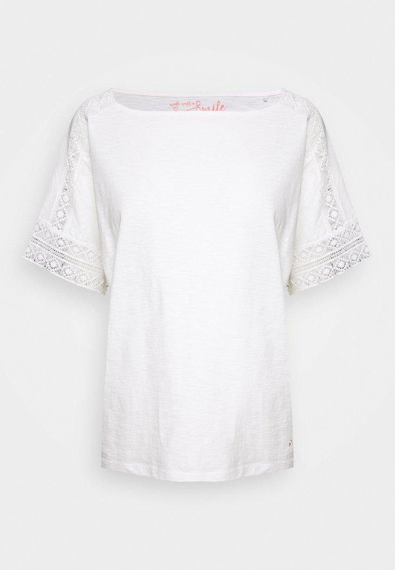 s.Oliver - T-shirt print - cream