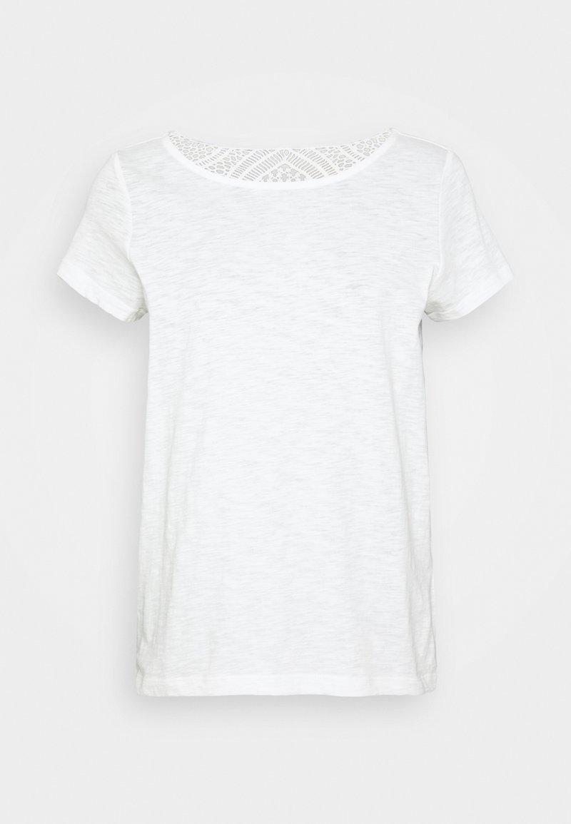 s.Oliver - Camiseta estampada - cream