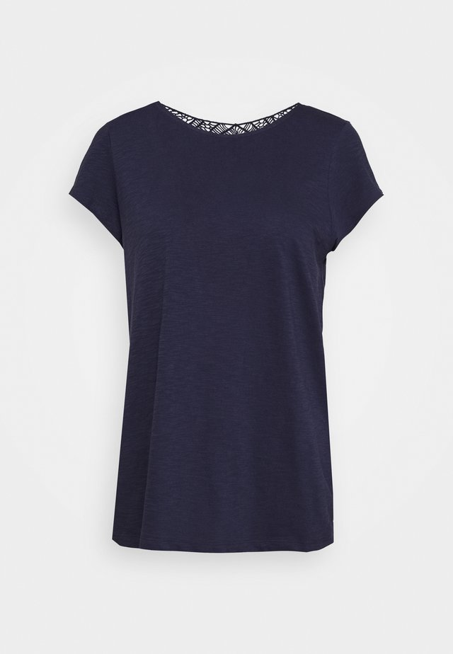 T-shirt basic - dark steel blue