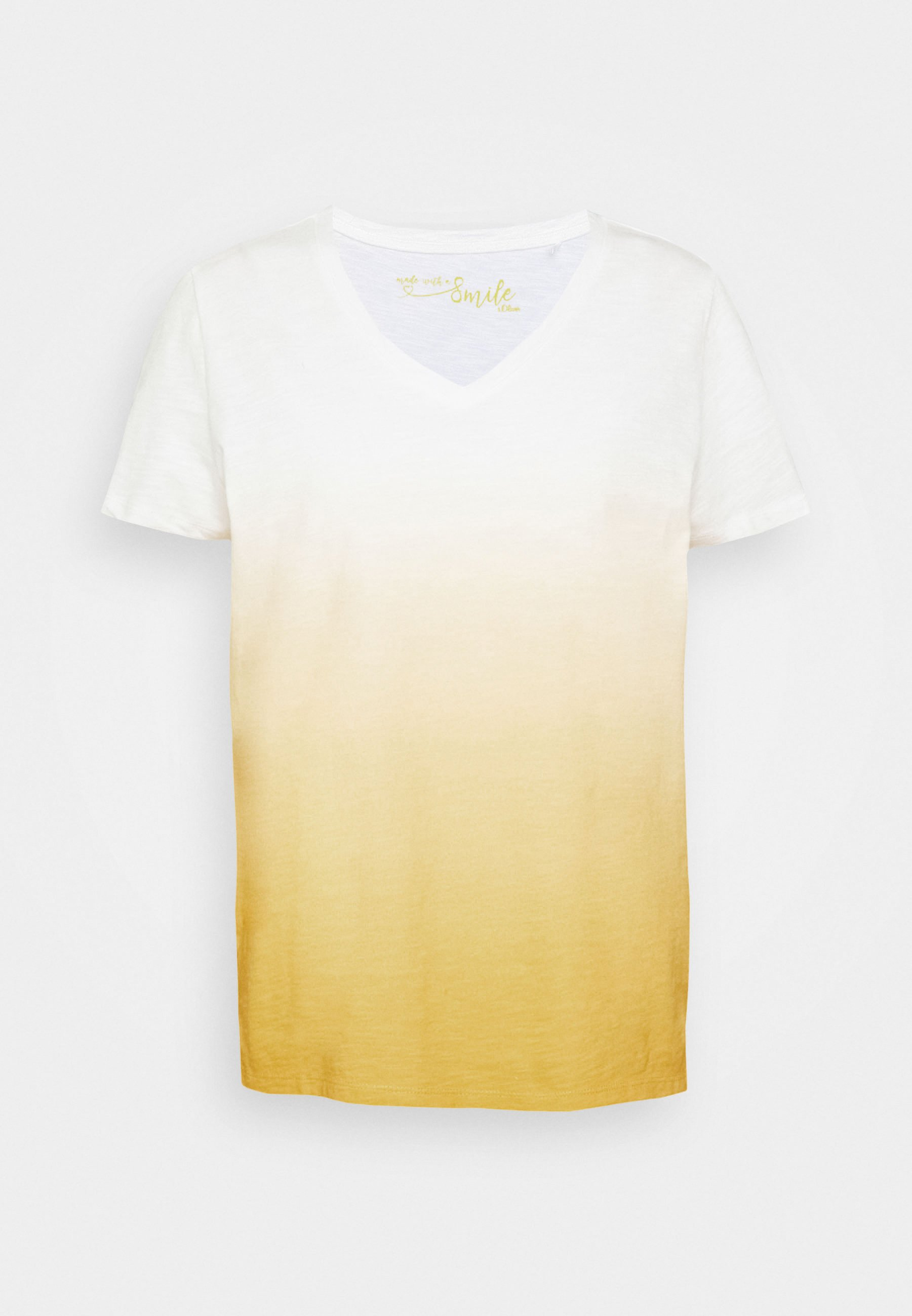 s.Oliver T-shirts med print - cream