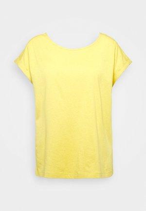 KURZARM - Basic T-shirt - goldgelb