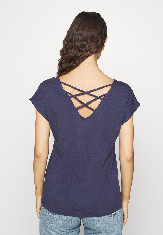 KURZARM - T-shirt basique - blue