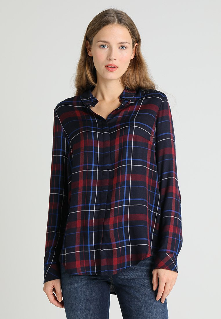 s.Oliver - Button-down blouse - navy