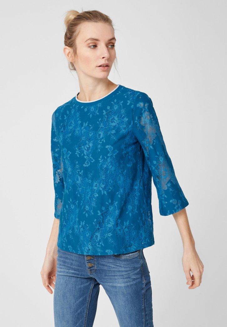 s.Oliver - Blouse - azure blue