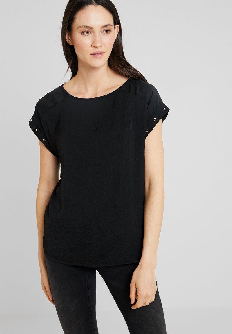 s.Oliver - Camiseta básica - black