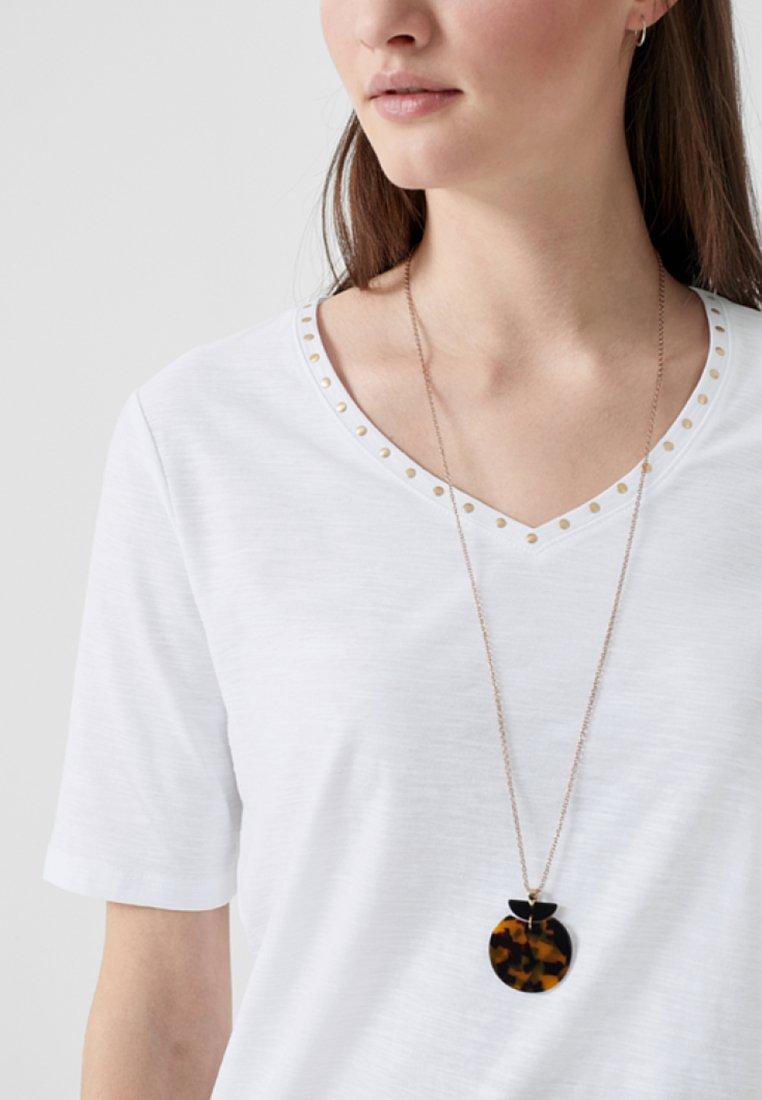 S.oliver Print T-shirt - White
