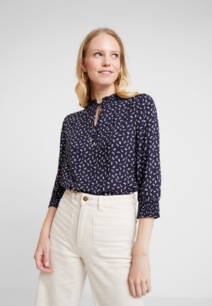 3/4 ARM - Blouse - navy