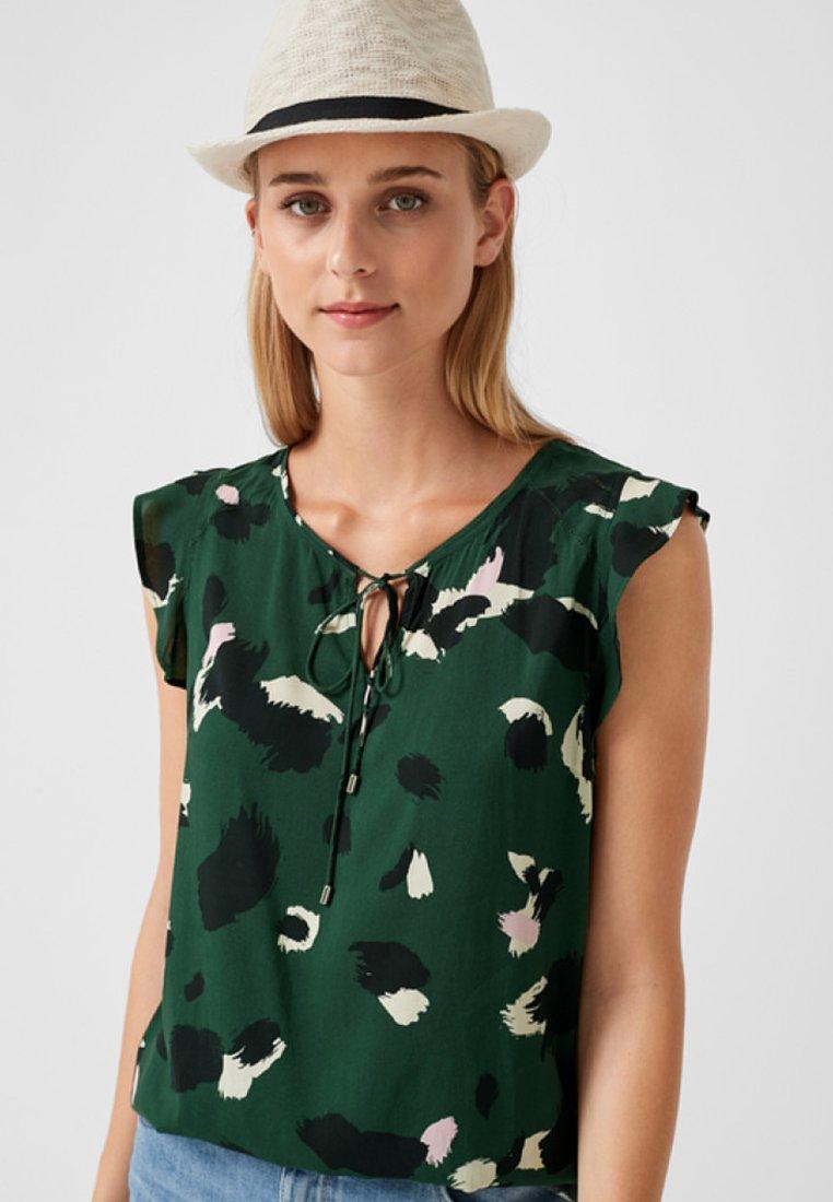 s.Oliver - Bluse - emerald