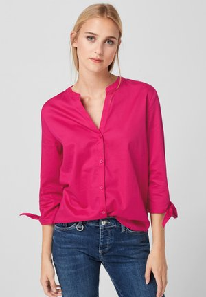 MIT KNOTEN-DETAILS - Overhemdblouse - pink