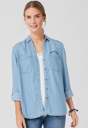 MIT V-NECK - Overhemdblouse - blue