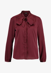 s.Oliver BLACK LABEL - Skjorte - burgundy - 4