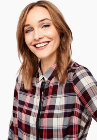 s.Oliver - Button-down blouse - brown - 4