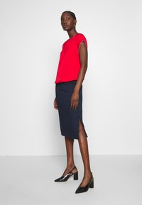 s.Oliver - KURZARM - Blouse - red - 1