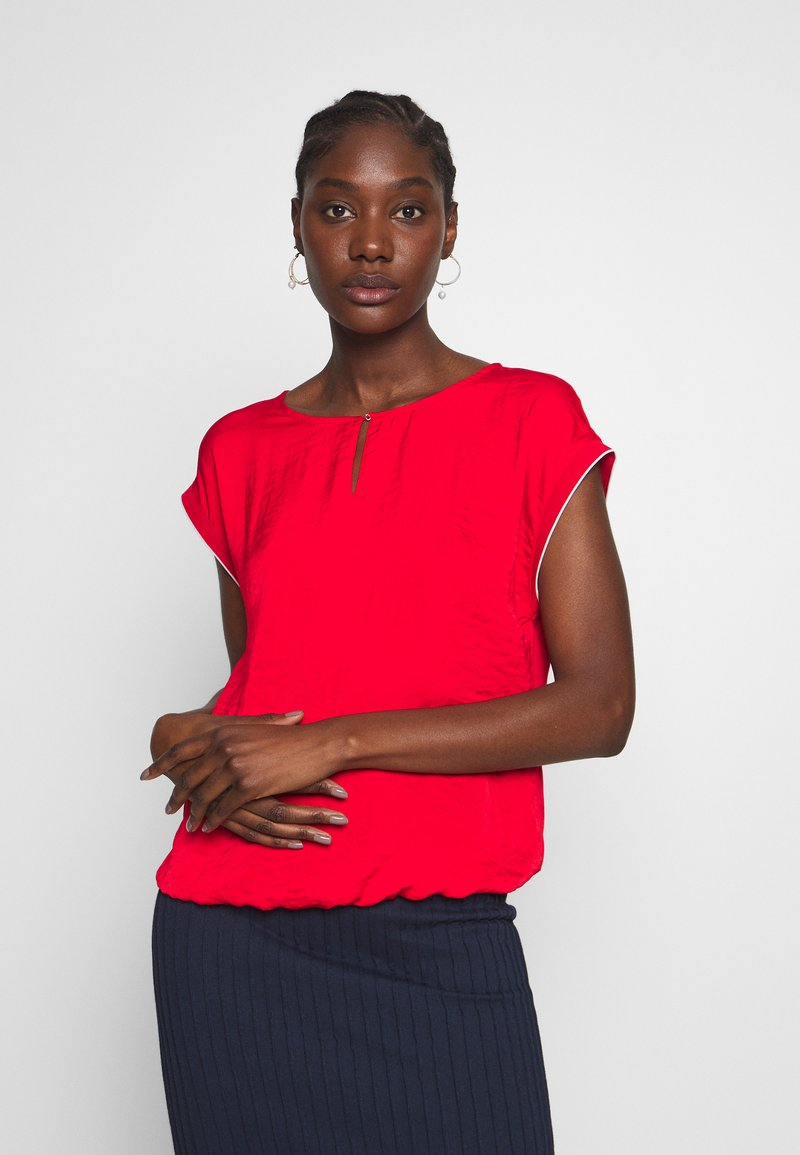 s.Oliver - KURZARM - Blouse - red