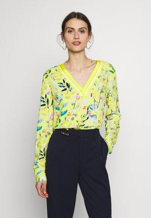 Bluser - glossy yellow