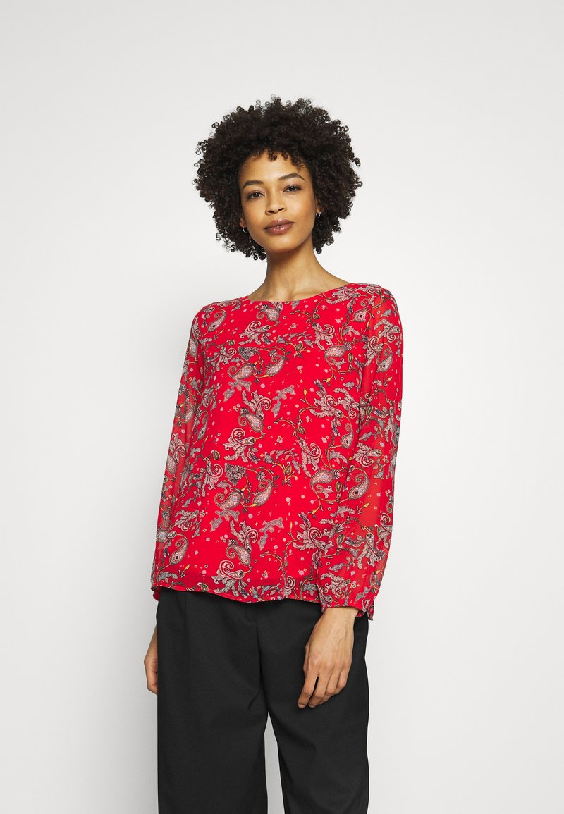 s.Oliver - Blouse - cherry red