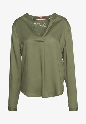BLUSE - Blouse - green
