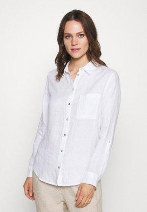LANGARM - Overhemdblouse - white
