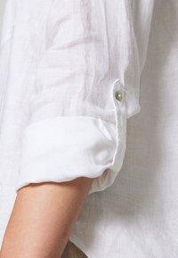 s.Oliver - LANGARM - Skjortebluser - white - 4